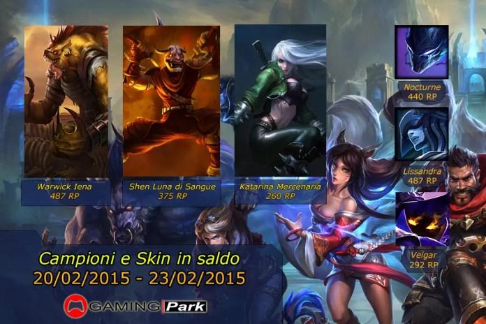 League of Legends Saldi 1