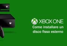 Xbox One Disco fisso esterno