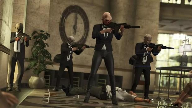 Grand Theft Auto V Colpi