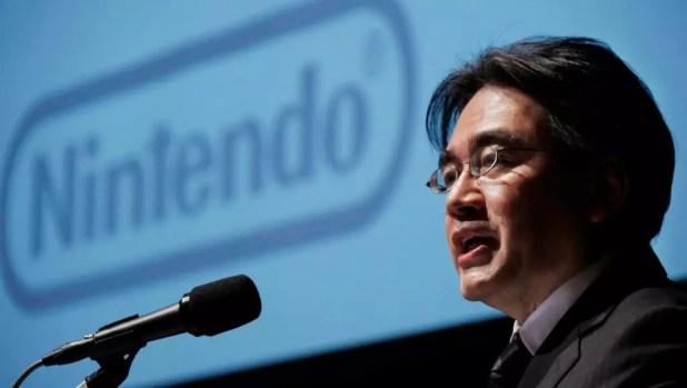 Satoru Iwata Nintendo