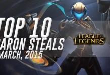 League of Legends Top 10 Baron Steals
