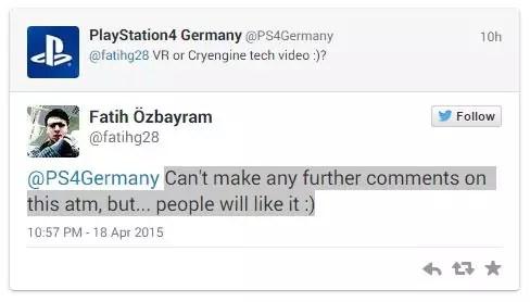 Crytek B Demo E3