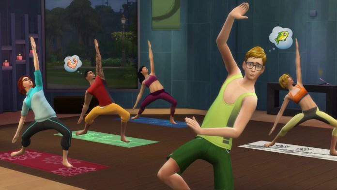 The Sims 4 un giorno alla spa