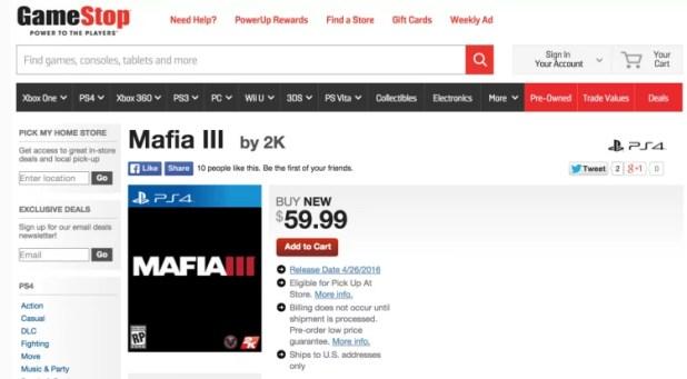 Mafia 3
