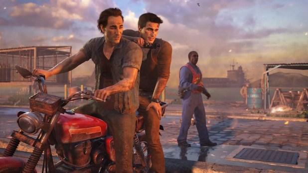 Uncharted 4: La Fine di un Ladro Moto Scena