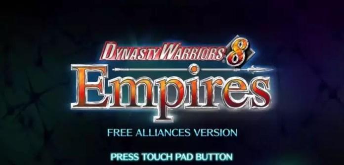 Dinasty Warriors 8 giochi gratuiti PlayStation 4
