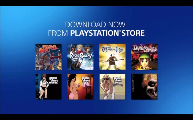 PlayStation 2 PlayStation 4 classics