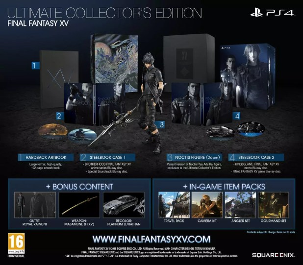 Final Fantasy XV Ultimate Collector