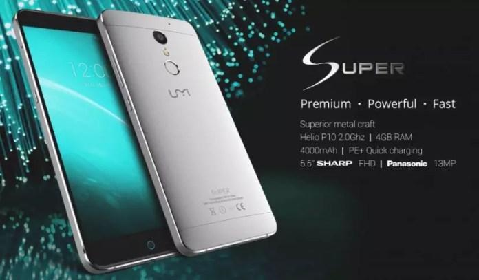 Umi Super Smartphone