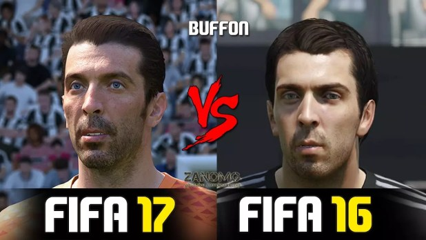 FIFA 17 FIFA 16