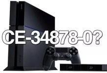 PS4 Errori