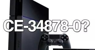 Errori PS4 e come risolverli