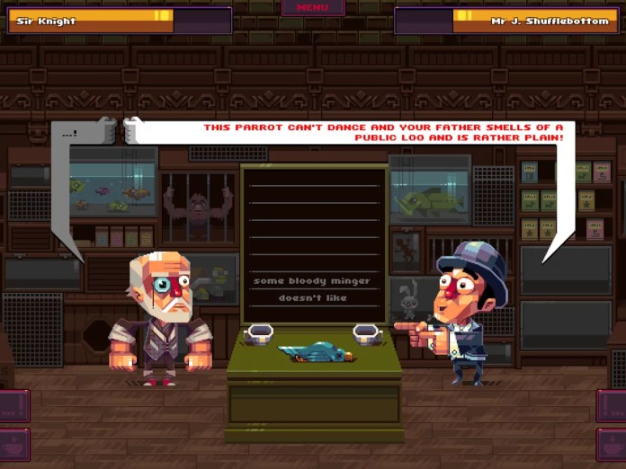 Oh… Sir! The Insult Simulator