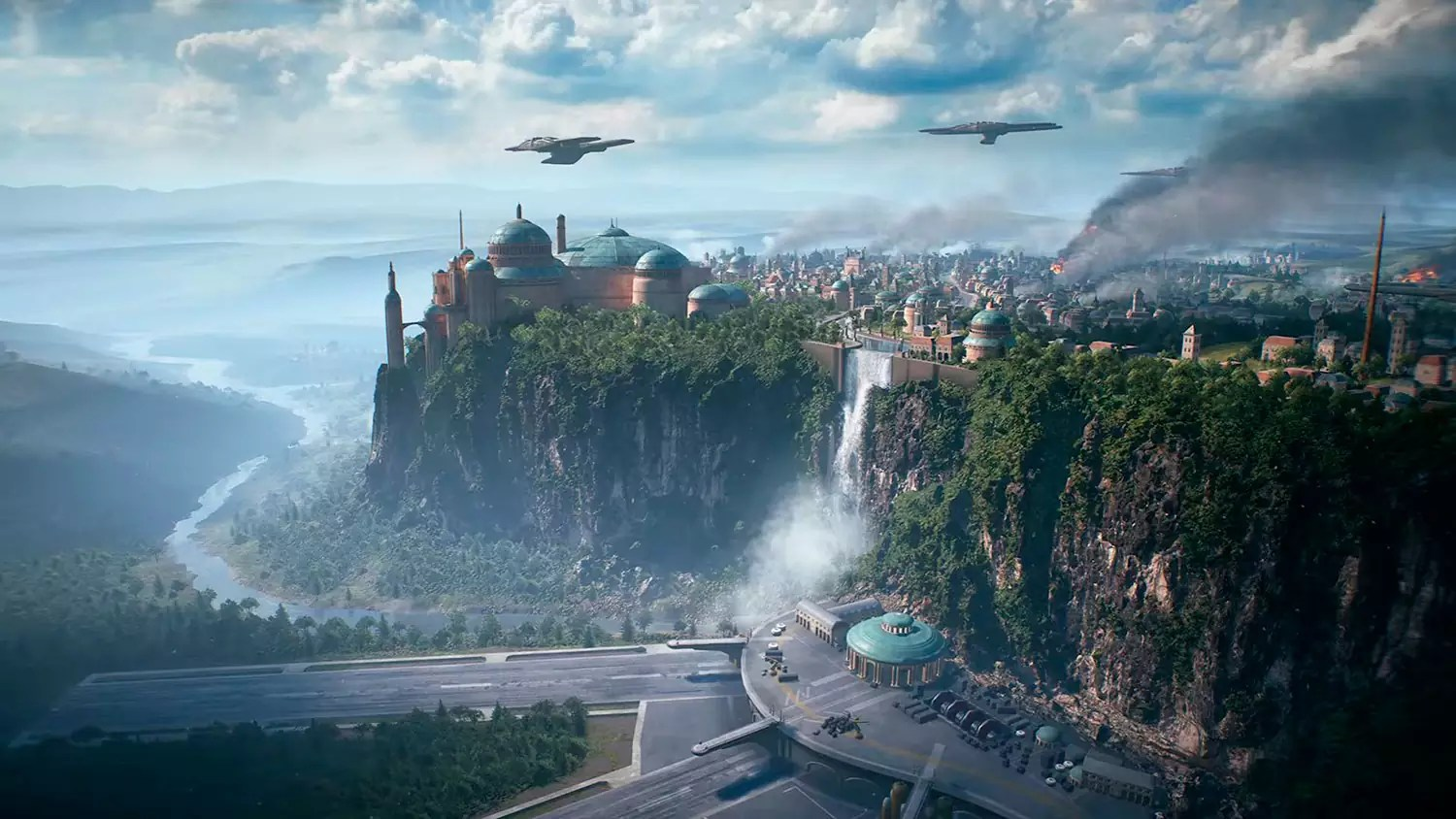 EA Play: Star Wars Battlefront II in azione