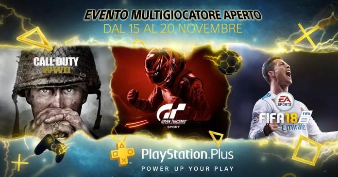 PlayStation Plus Multigiocatore Gratis