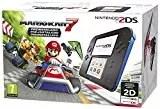 Nintendo 2DS Nero/Blu + Mario Kart 7 Preinstallato [Bundle]