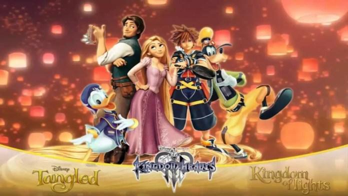 Rapunzel kingdom Hearts