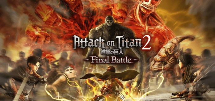 AOT 2 Final Battle Cover