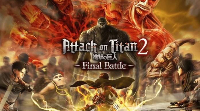 AOT 2 Final Battle Cover