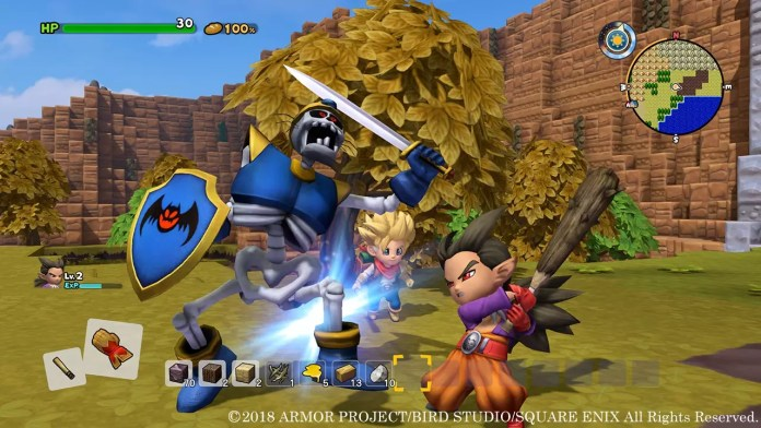 Dragon Quest Builders 2 Battaglia