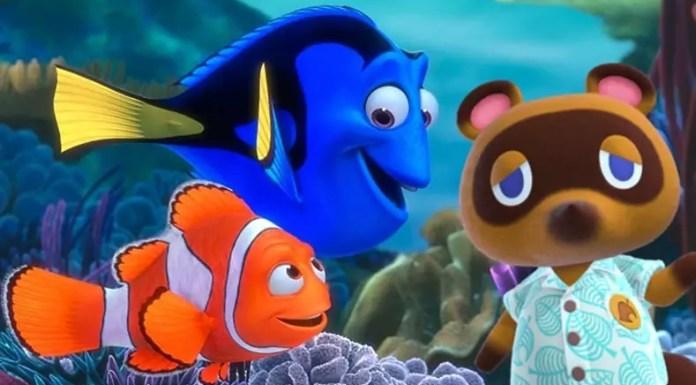 Una scena leggendaria di Finding Nemo ricreata in Animal Crossing: New Horizons