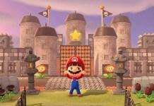 Il castello di Bowser ricreato in Animal Crossing: New Horizons