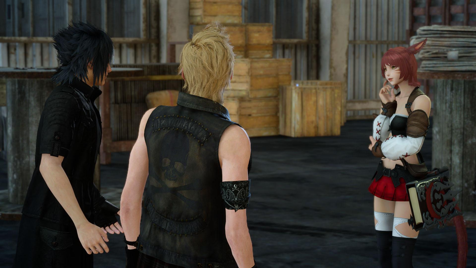Final Fantasy XV X Final Fantasy XIV Online Collaboration