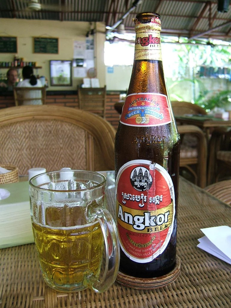 angkor-beer, Things to do in Cambodia, Cambodia travel guide, backpacking Cambodia, Angkor Watt, what to eat in Cambodia