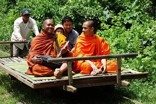 bamboo-train-battambang-cambodia, Cambodia Tourist Spots