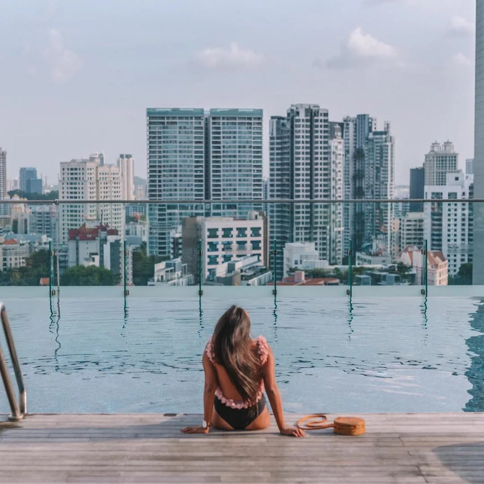 hotel jen orchardgateway, singapore where to sleep, where to stay in Singapore