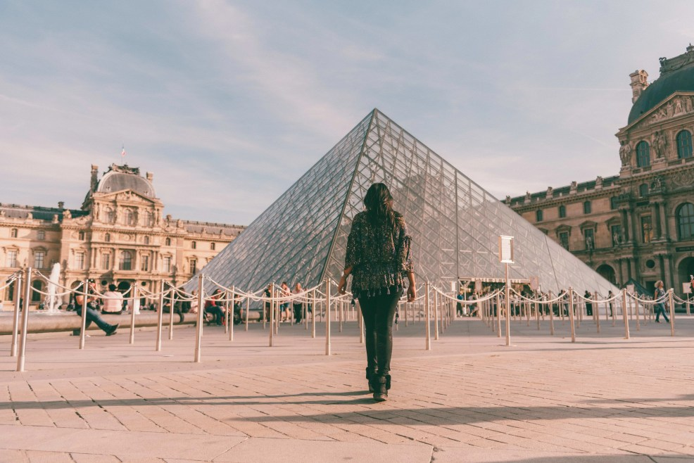 Most Instagrammable places in Paris, Louvre Museum