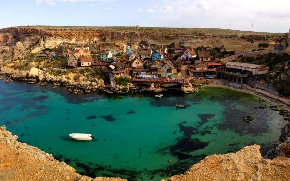 Things to do in Malta, Places to visit in Malta, Beaches in Malta, Popeye Village