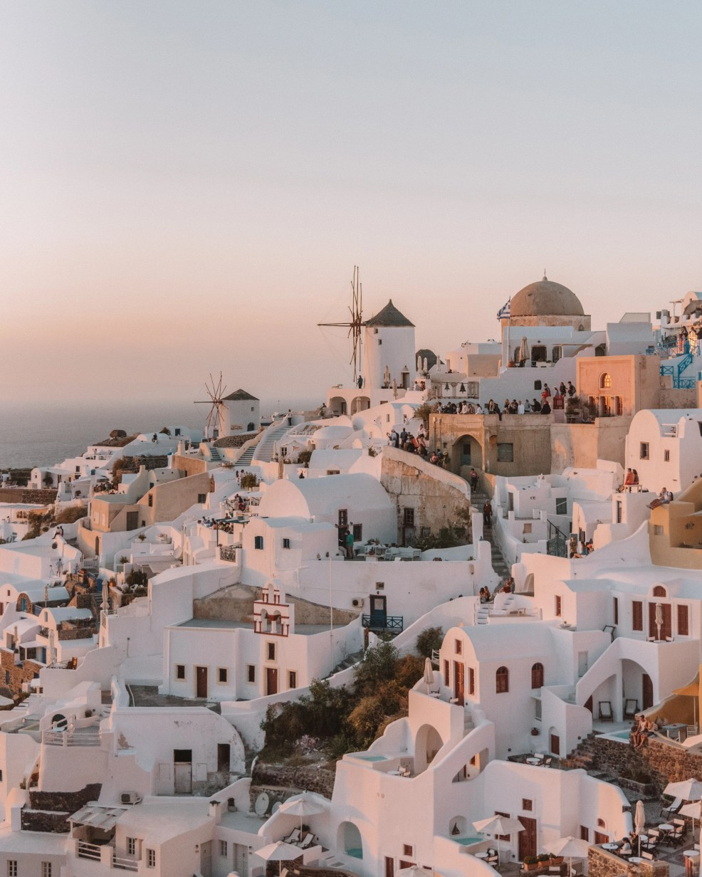 How to get to Mykonos from Athens, Santorini Island