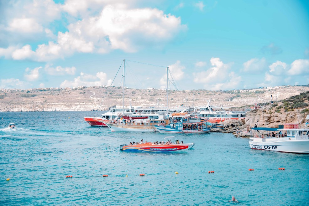 Instagrammable places in Malta, Blue Lagoon