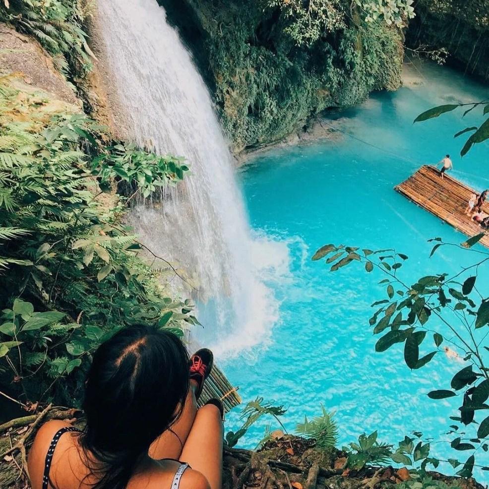 instagrammable places in Cebu, Kawsan Falls