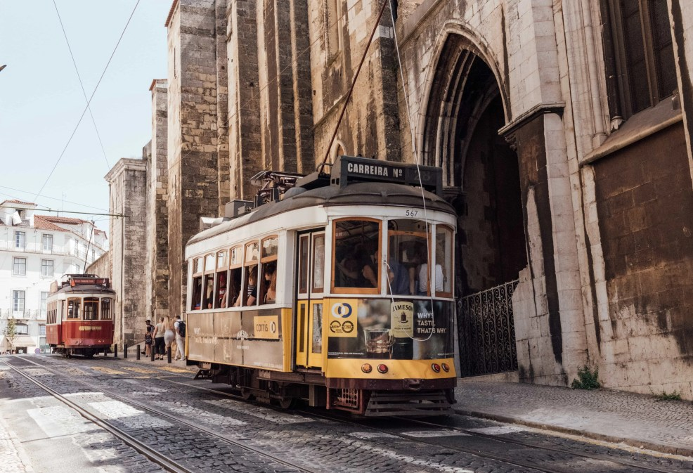 top instagrammable places in lisbon, trainway 28
