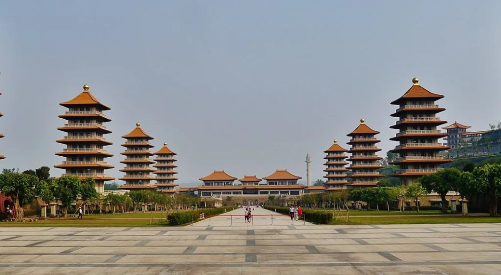 Fo Guang Shan Buddha Museum, instagrammable places in Taiwan,
