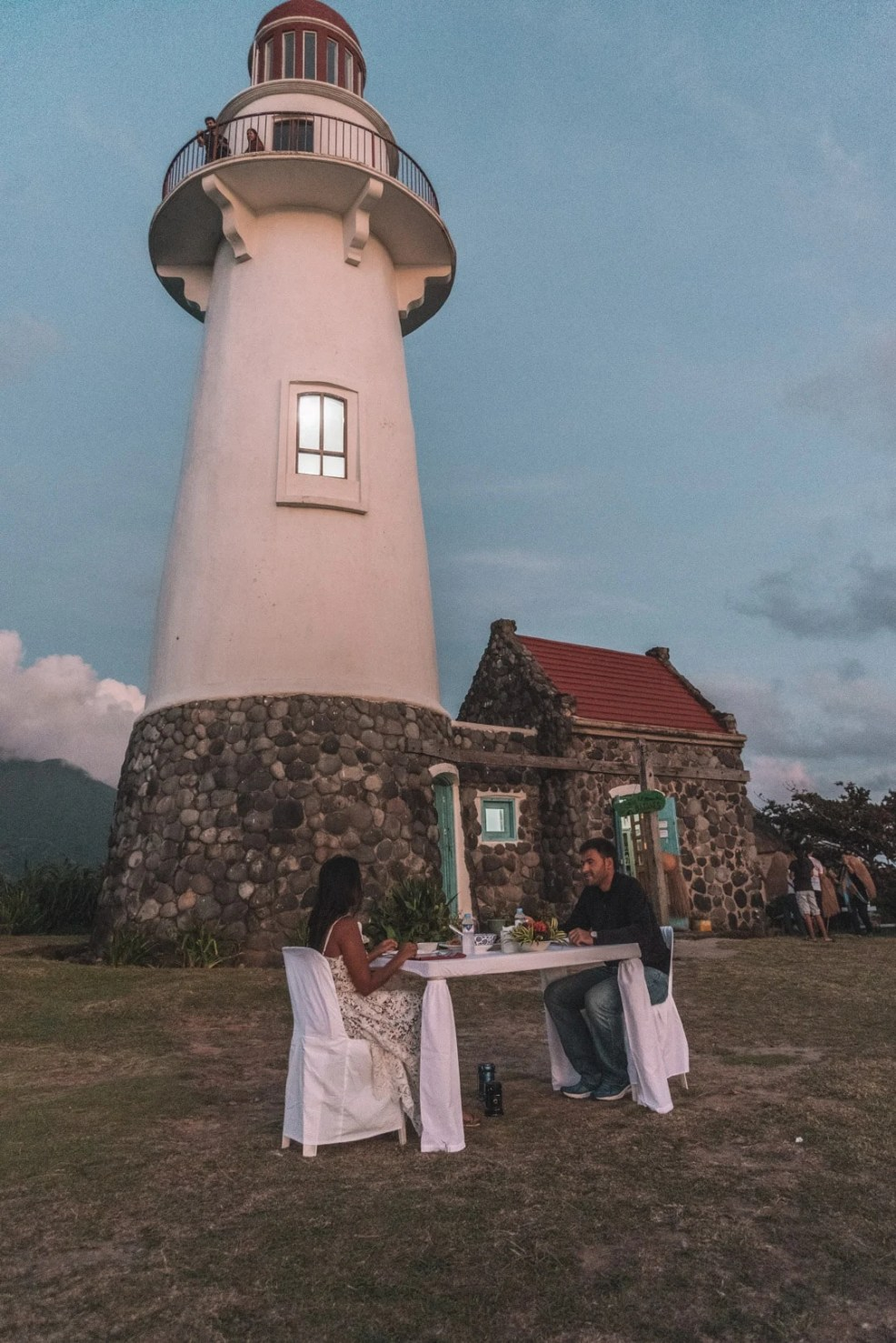 batanes itineary, batanes travel itinerary, basco lighthouse dinner in Batanes, romantic dinner in Basco