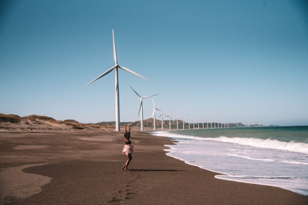 Bangui windmills, tourist spots in the Philippines