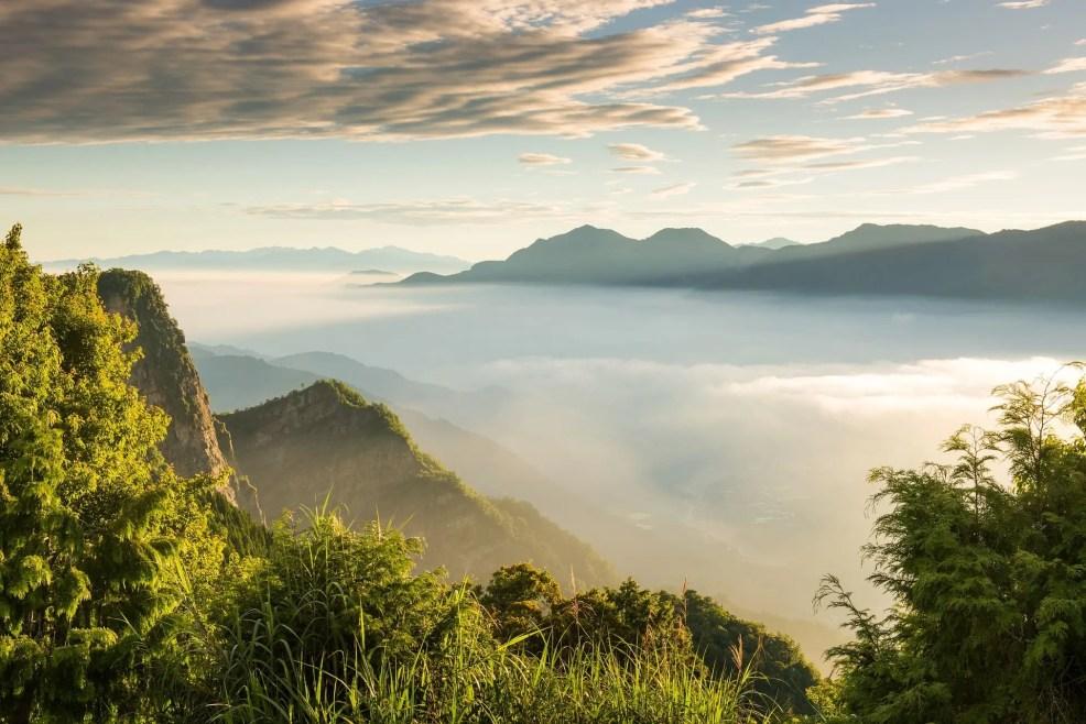 Alishan Mountain, Taiwan tourist spots