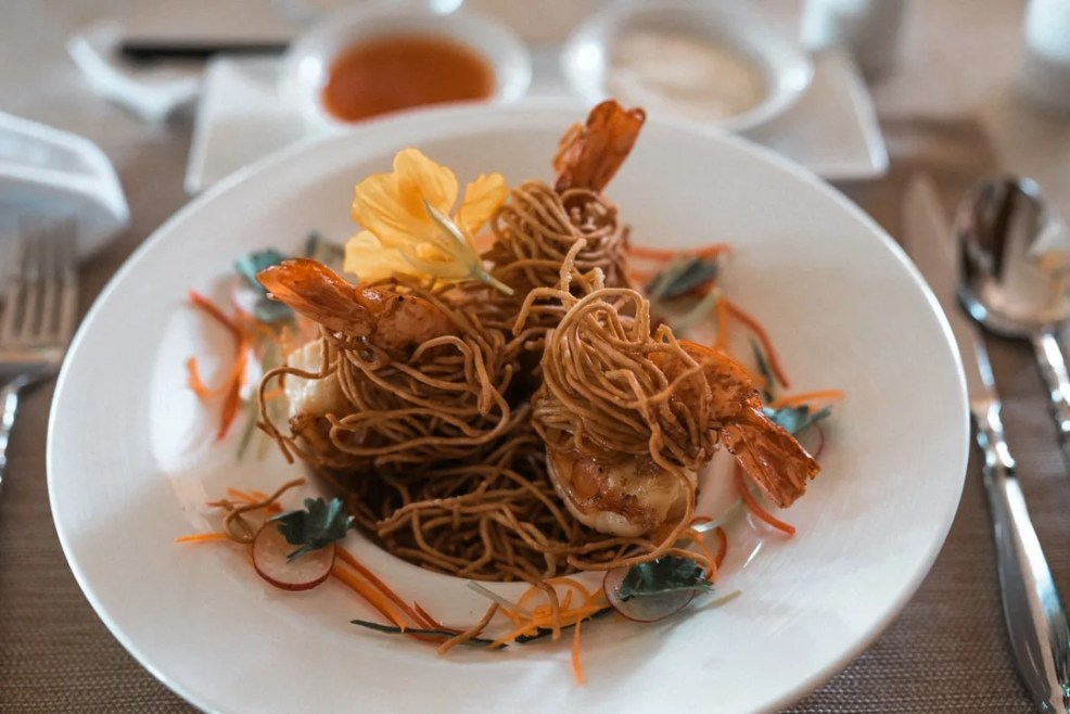 food to try in Nusa Dua, Samabe Resort