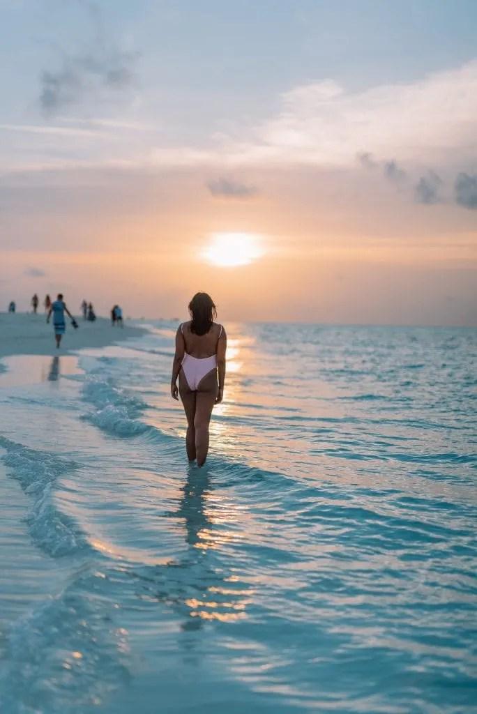 sunset at Kuramathi Resort, Maldives