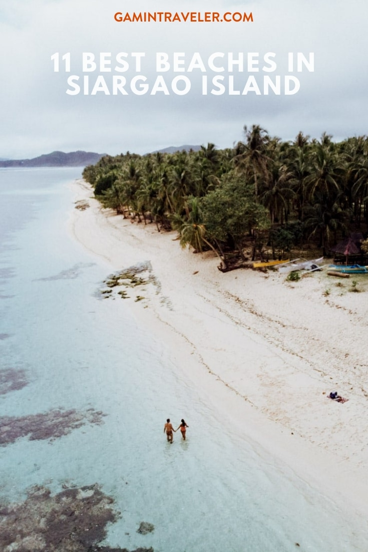 Alegria Beach, Best Beaches in Siargao Island