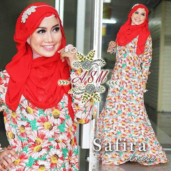 Model Jilbab Resleting
