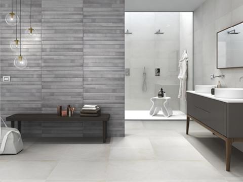 distribución del baño, revestimientos para baños