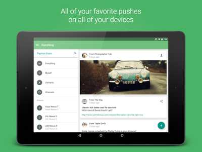 Download Pushbullet v16.1 apk for Android