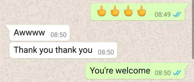 how-to-make-middle-finger-emoji-in-whatsapp-gammerson
