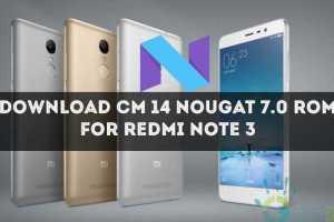 cm14-nougat-for-xiaomi-redmi-note-3