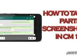How to Install/Enable Paritial Screenshot in CM 14.1