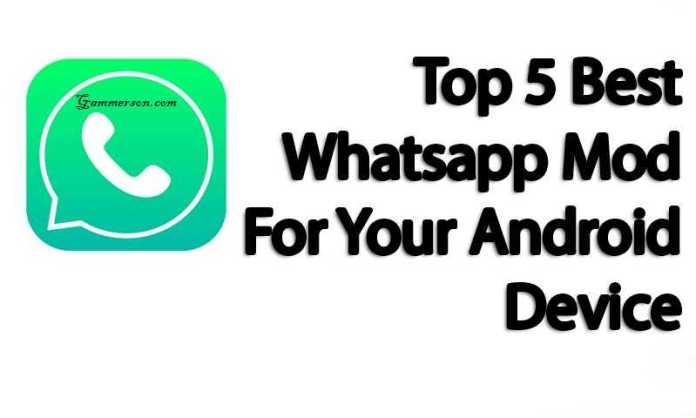 Top 5 Whatsapp MOD